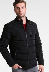HARRINGTON - BIKER - Winter jacket - noir - 0