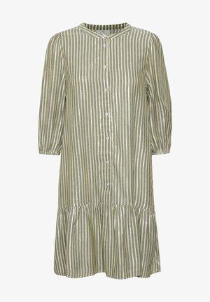 BONY - Day dress - drizzle/chalk/gold stripes