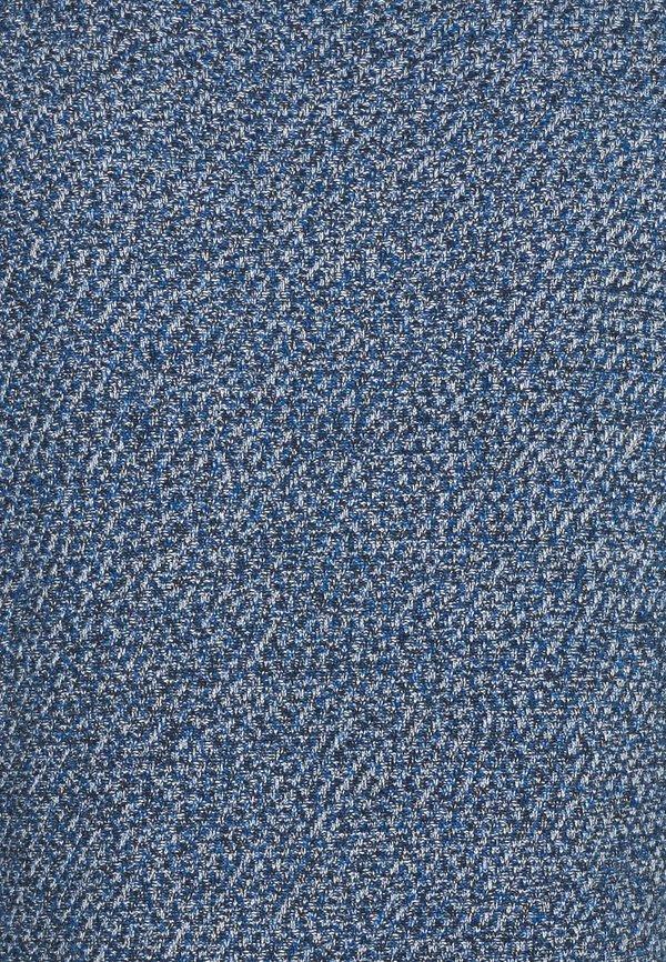 TOM TAILOR Sweter - navy blue/white mouline/granatowy Odzież Męska FHDJ
