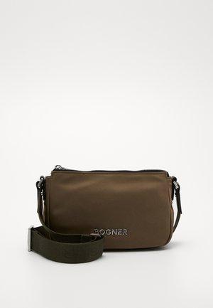 KLOSTERS CLEO SHOULDERBAG - Across body bag - khaki