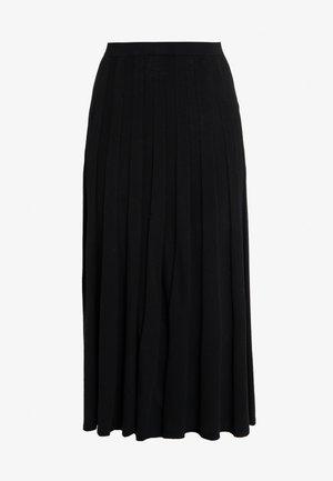 RUBY SKIRT - Áčková sukně - black