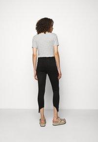 rag & bone - NINA ANKLE SKINNY - Jeans Skinny Fit - black - 2