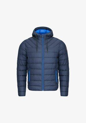 ALLO - Down jacket - blu marine