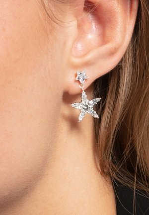 Earrings - white/silver-coloured