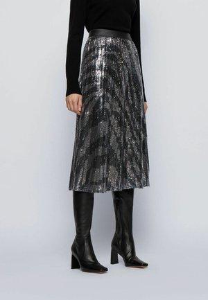 VASPARKY - Jupe plissée - black