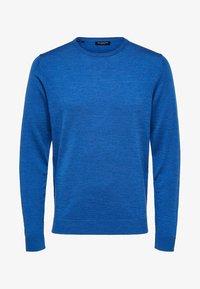 Selected Homme - Jumper - medium blue melange - 5