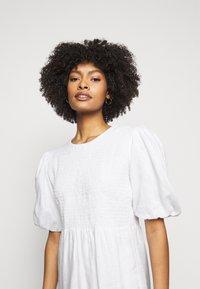 Faithfull the brand - LORICA DRESS - Day dress - plain white - 3