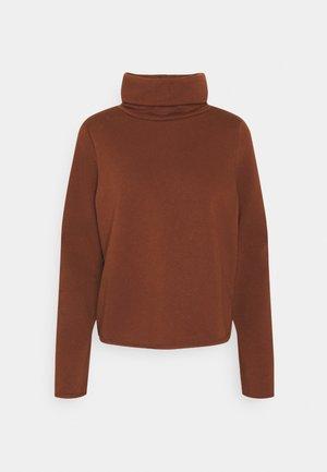 ONLNEO COWLNECK - Sweatshirt - cappuccino