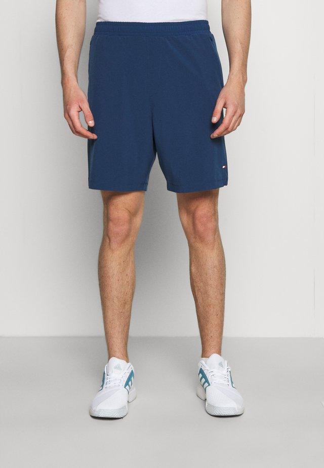 LOGO TRAINING SHORT - Short de sport - blue