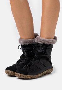 El Naturalista - NIDO - Winter boots - black - 0