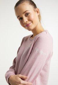 Schmuddelwedda - Sweatshirt - rosa melange - 3