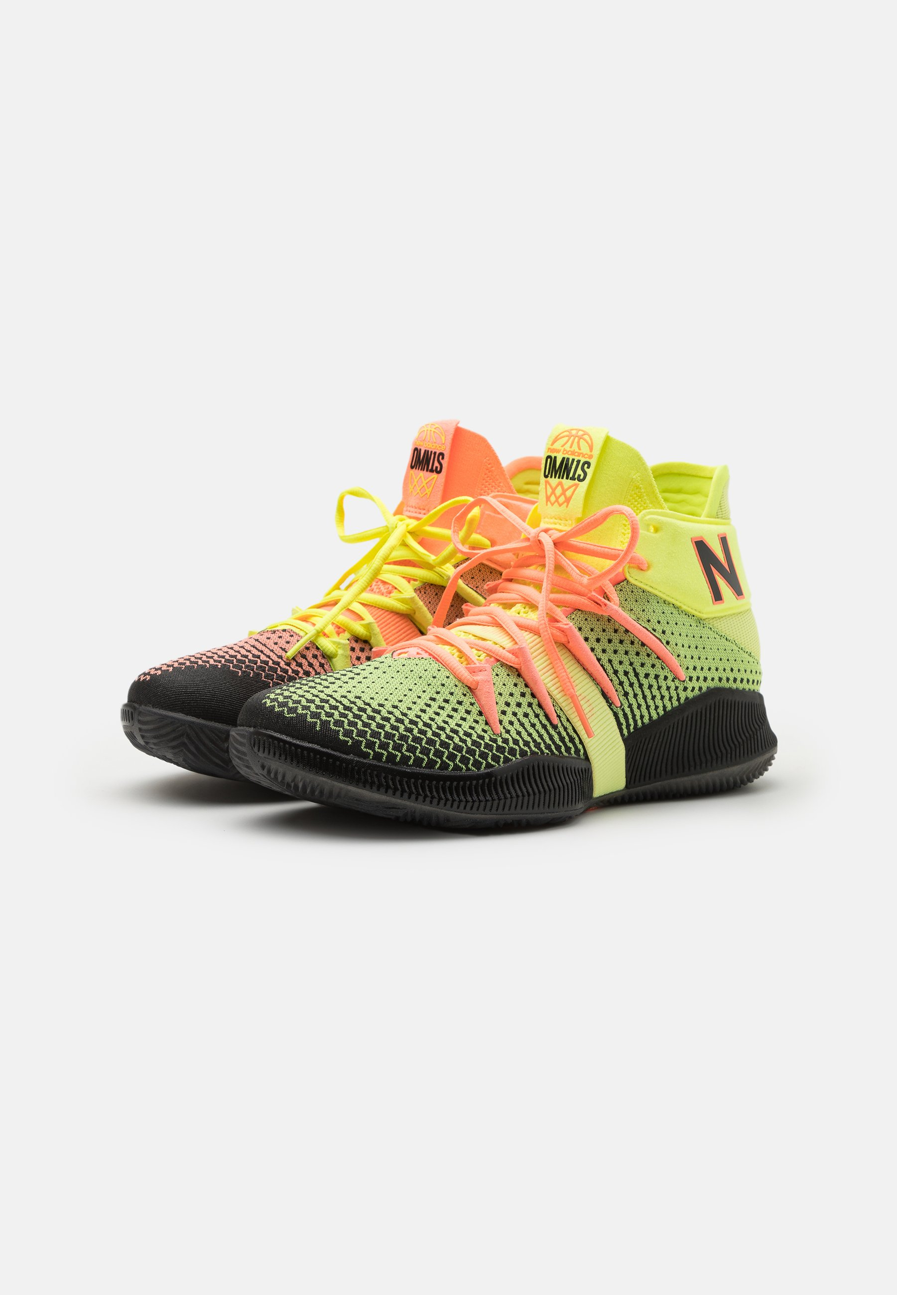 New Balance BBOMNX - Scarpe da basket - pink/black/fuxia - Zalando.it