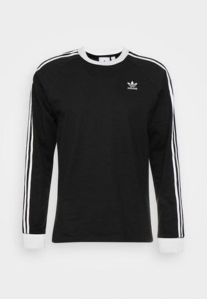 3 STRIPES UNISEX - Camiseta de manga larga - black