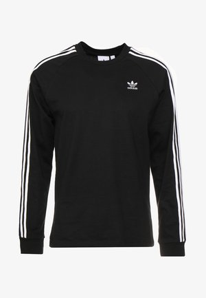 3 STRIPES UNISEX - T-shirt à manches longues - black
