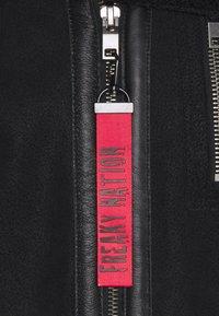 Freaky Nation - TOGIAK - Leather jacket - black - 2