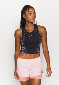 Nike Performance - RUNWAY - Funktionsshirt - black/silver - 0