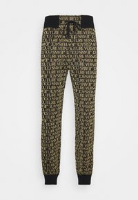 Versace Jeans Couture - TECHNICAL  - Tracksuit bottoms - nero/oro - 0
