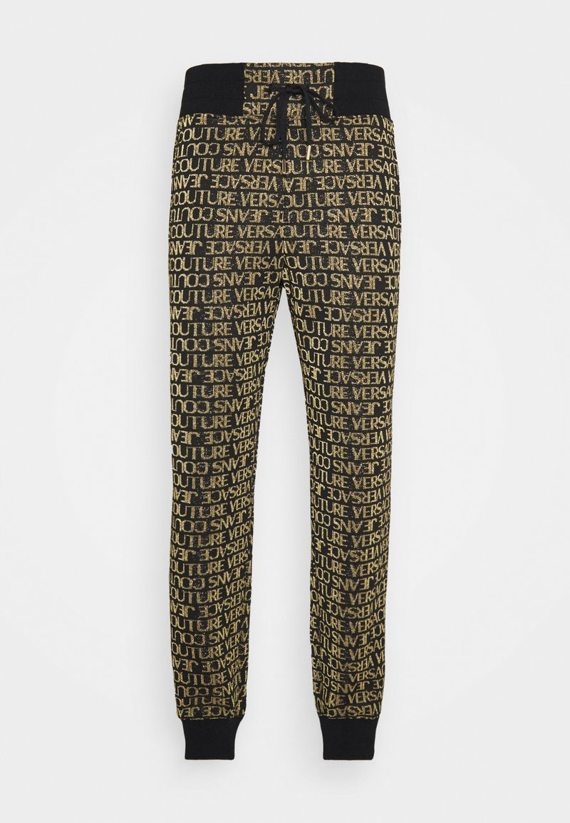 Versace Jeans Couture - TECHNICAL  - Tracksuit bottoms - nero/oro