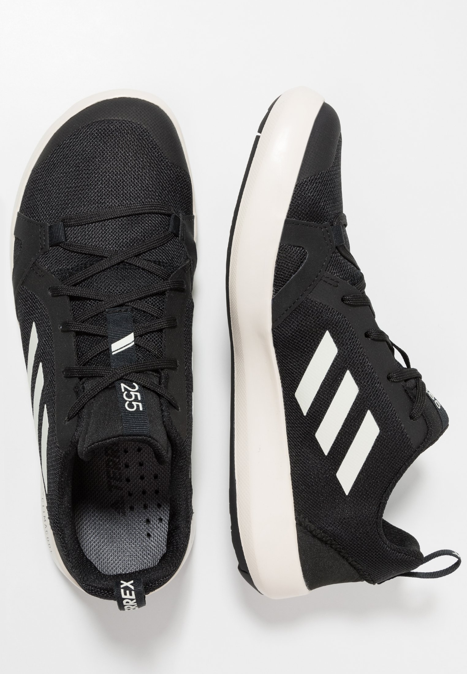 adidas Performance TERREX BOAT - Vannsportsko - core black/clear white
