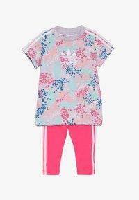 adidas Originals - TEE DRESS SET - Leggings - multi-coloured - 4