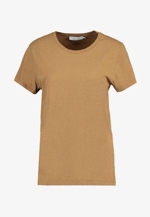 SOLLY TEE SOLID - T-shirts - khaki