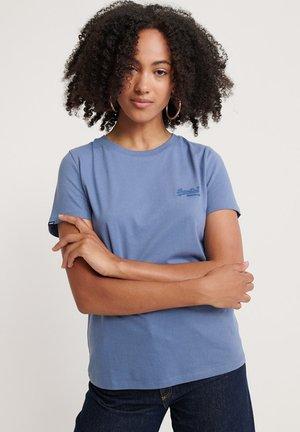 ORANGE LABEL - Basic T-shirt - blue