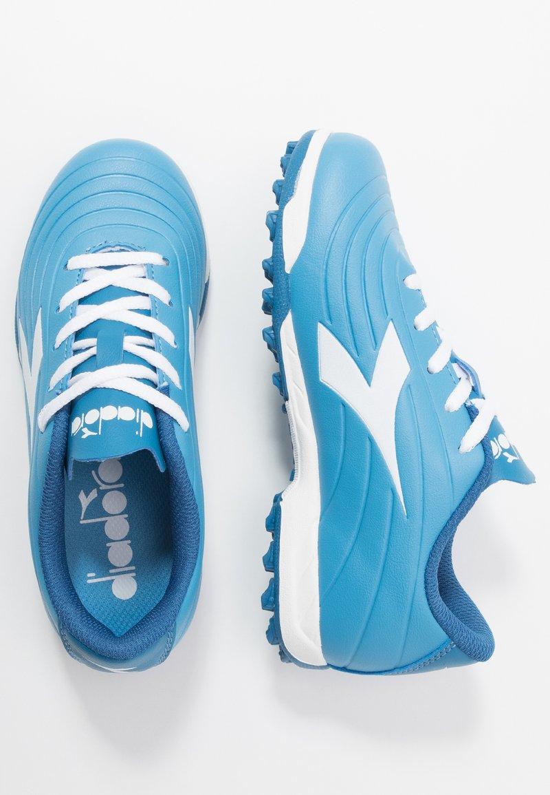 Diadora - PICHICHI 2 TF - Astro turf trainers - sky-blue/white