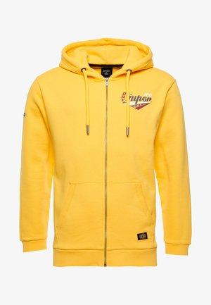 BOHO GRAPHIC  - Zip-up sweatshirt - springs yellow
