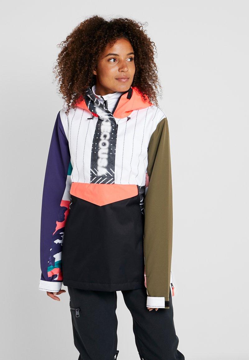 DC Shoes - ENVY ANORAK - Snowboard jacket - multicolor