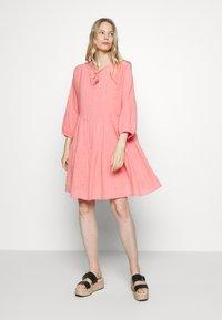 Part Two - DENCIA - Day dress - peach blossom - 0