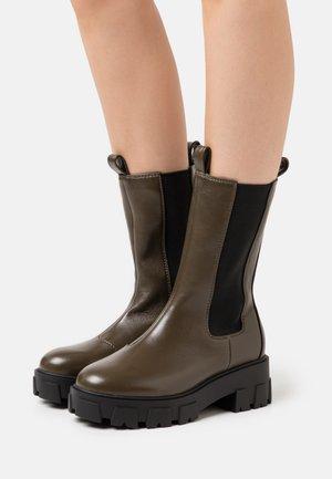 ELLERY - Platform boots - khaki