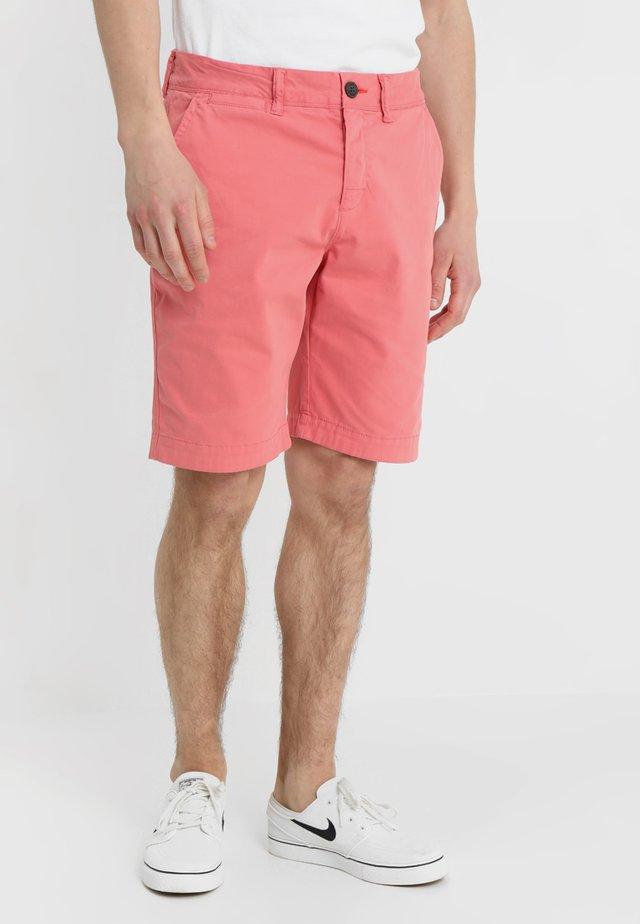 INTERNATIONAL CHINO SHORT - Shorts - pomegranate