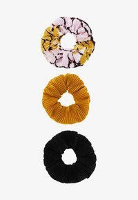 Even&Odd - 3 PACK - Hair styling accessory - black/multicoloured - 2