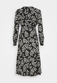 Alexa Chung - LONG SLEEVE DRESS - Freizeitkleid - black/off white - 7