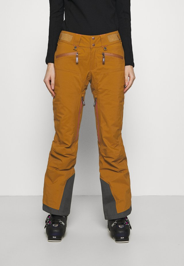 WOMEN'S ZERMATT PANTS - Snow pants - khaki