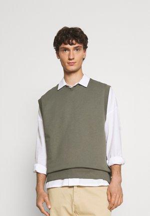 KARL VEST - Sweater - grey