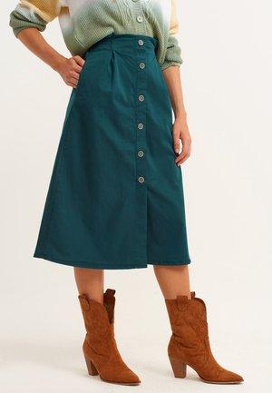 A-line skirt - antik bottle green