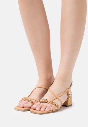 Sandals - caramel