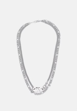 FIXTURE DOUBLE ROW NECKLACE - Ketting - silver-coloured