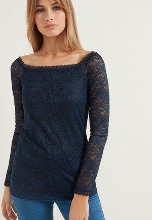 Long sleeved top - blu assoluto
