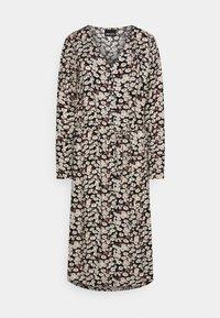 PIECES Tall - PCJUGLA SHIRT DRESS - Košilové šaty - black - 0