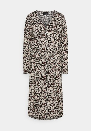 PCJUGLA SHIRT DRESS - Vestido camisero - black
