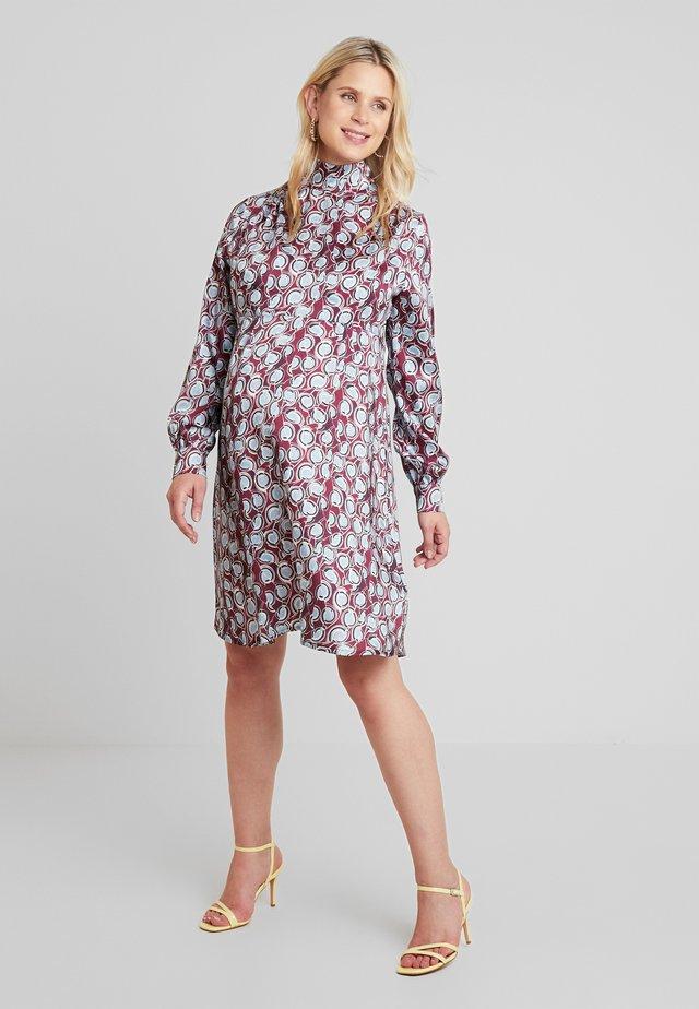 AUDREY - Korte jurk - purple klimt
