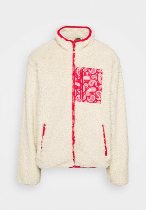 NANASH - Zip-up hoodie - cream