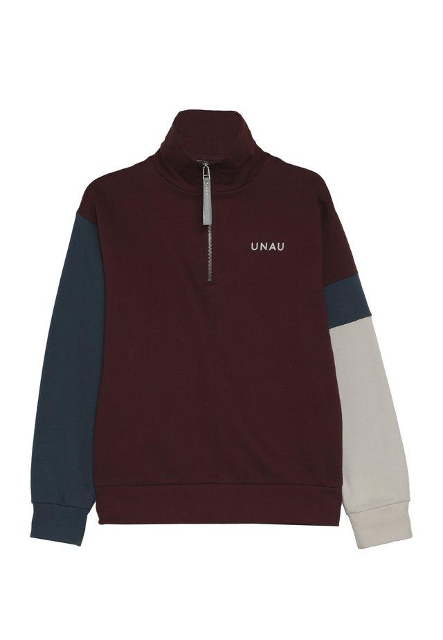 TOMMI - Sweatshirt - burgundy