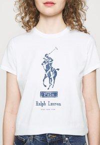 Polo Ralph Lauren - Triko spotiskem - white - 4