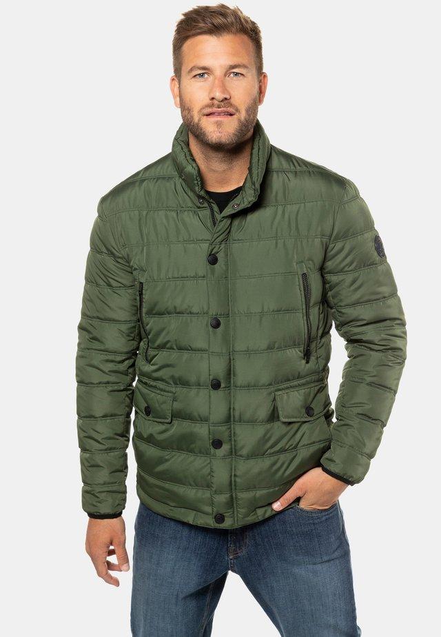 Winter jacket - bosgroen