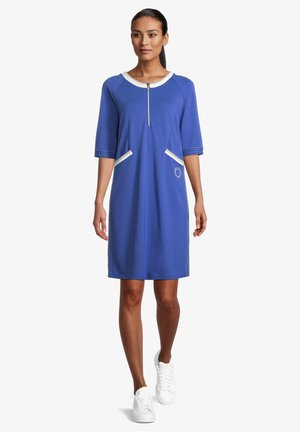 Jersey dress - deep ultramarine