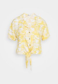 Hollister Co. - RESORT TEXTURE UPDATE - Button-down blouse - yellow - 4