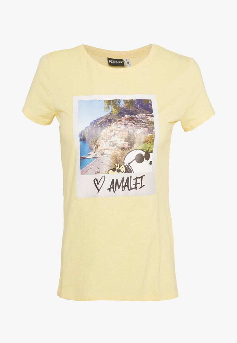 ONLY - ONLPEANUTS LIFE FIT PHOTO BOX - Print T-shirt - pineapple slice